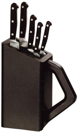 Подставка UNIVERSAL+ 5 кованных ножей Victorinox (5.1176.5)