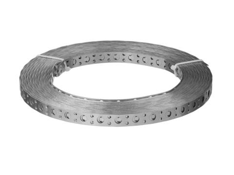 Перфорированная вентиляционная лента прямая ПВЛ, 12х0.5мм, 25м, ЗУБР
