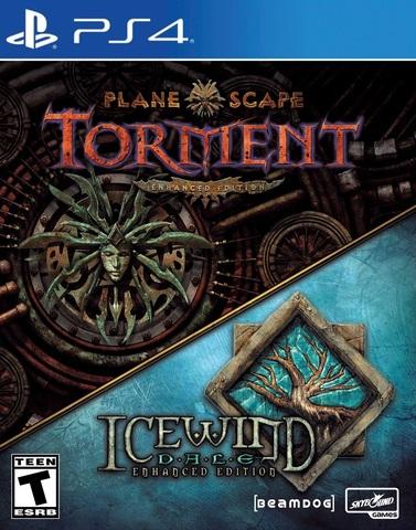 Icewind Dale: Enhanced Edition и Planescape Torment: Enhanced Edition Стандартное издание (PS4, русская версия)