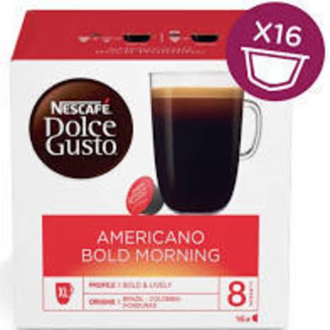 Кофе в капсулах Nescafe Dolce Gusto Americano Bold Morning (16 капс.)