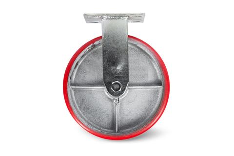 Колесо большегрузное неповоротн. PU (FCp 54) 125мм