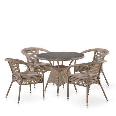 Комплект мебели T220CT/Y32B-W56 Light Brown
