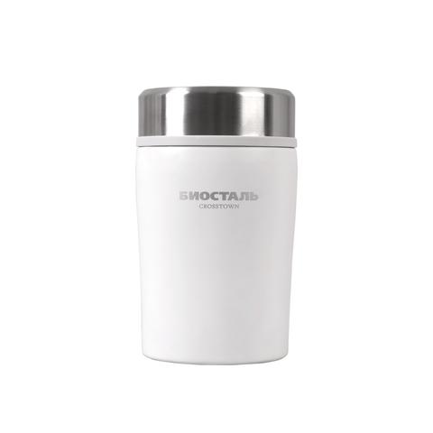 Термос для еды Biostal Crosstown (0,5 литра), белый