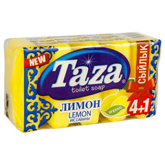 Taza Лимон туалетное мыло 5х60 гр.