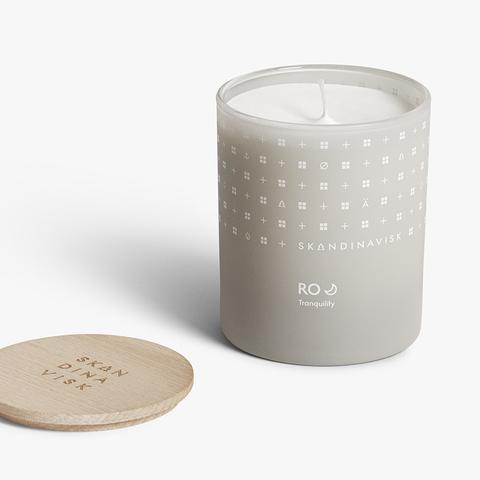 Свеча ароматическая RO с крышкой, 200 г (новая)