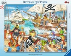 Puzzle Angriff der Piraten 36 pcs