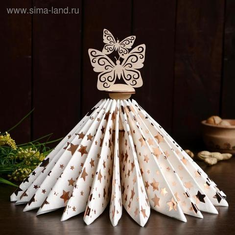 Салфетница «Бабочки», 22×12×0,3 см