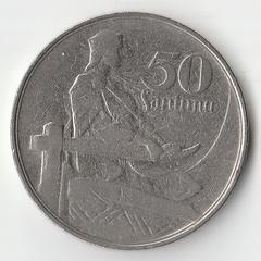 1922 год 50 сантим P1089