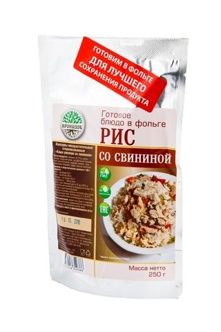 Рис со свининой 'Кронидов', 250г