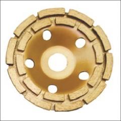 Чашка шлифовальная по бетону сегмент (D=100-230 мм) СТД-145