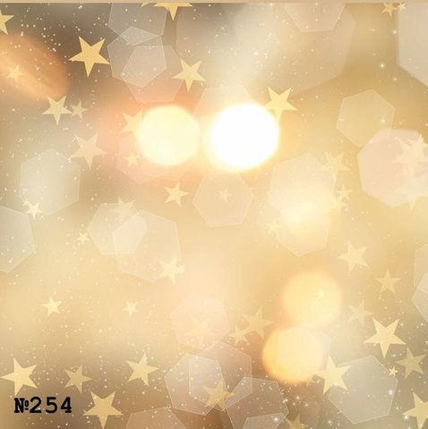 Фотофон виниловый «Золотой звездопад» №254