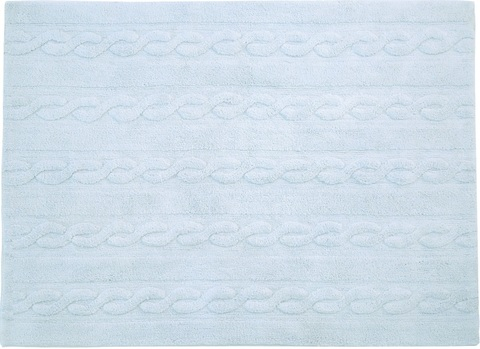 Ковер Lorena Canals Braids Soft Blue (120 x 160)