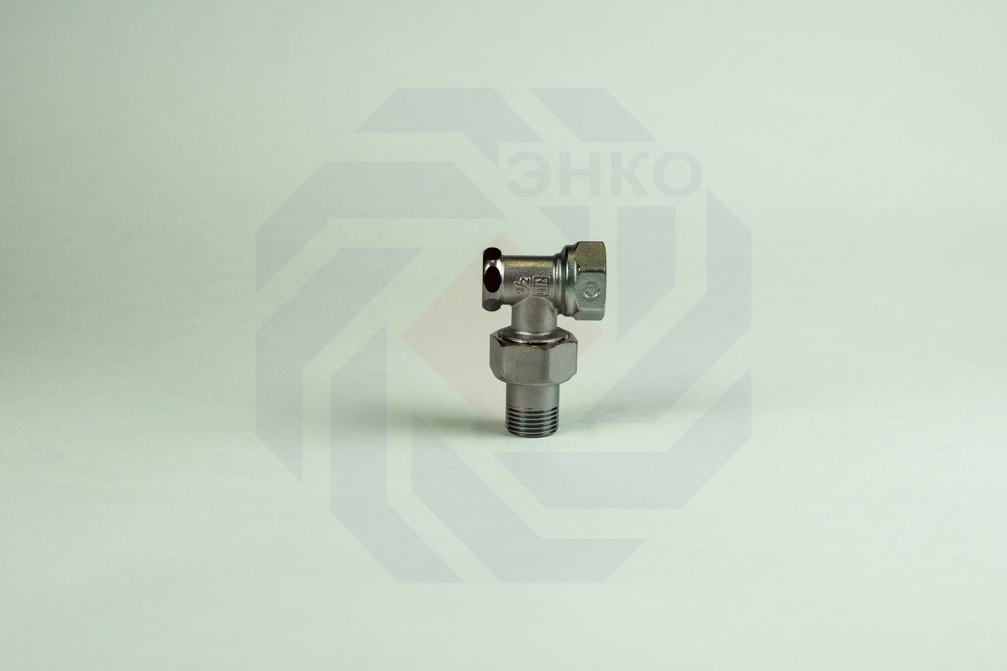 Клапан радиаторный отсечной GIACOMINI R16D2 угловой ¾