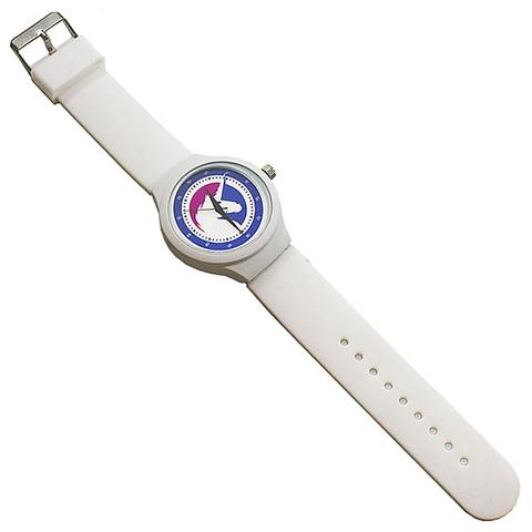 Часы наручные Единорог белые