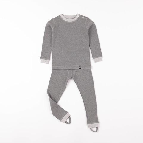 Thermal underwear set - Graphite