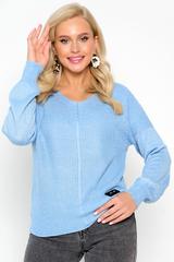 <p><span>Пуловер с люрексом- актуальная модель на осень. Идеальный женственный вариант на каждый день!&nbsp;</span></p> <p>&nbsp;</p> <p>(Один размер: 44-50)</p>