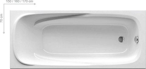 Ванна акриловая Ravak Vanda II 170X70 CP21000000