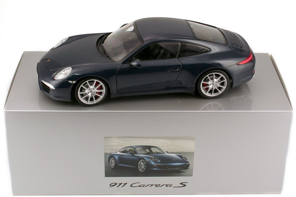 Коллекционная модель Porsche 911 991 Carrera S 2012 Blue