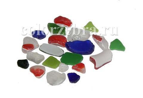 Цветное стекло для мозаики
