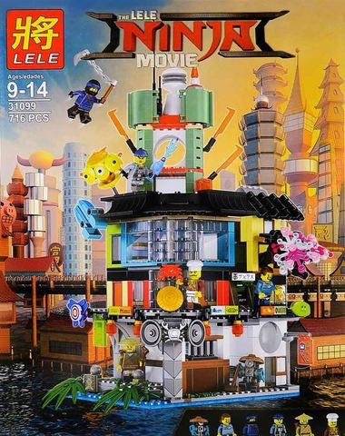 Конструктор LELE Ninja Movie Ниндзяго Сити мини 31099