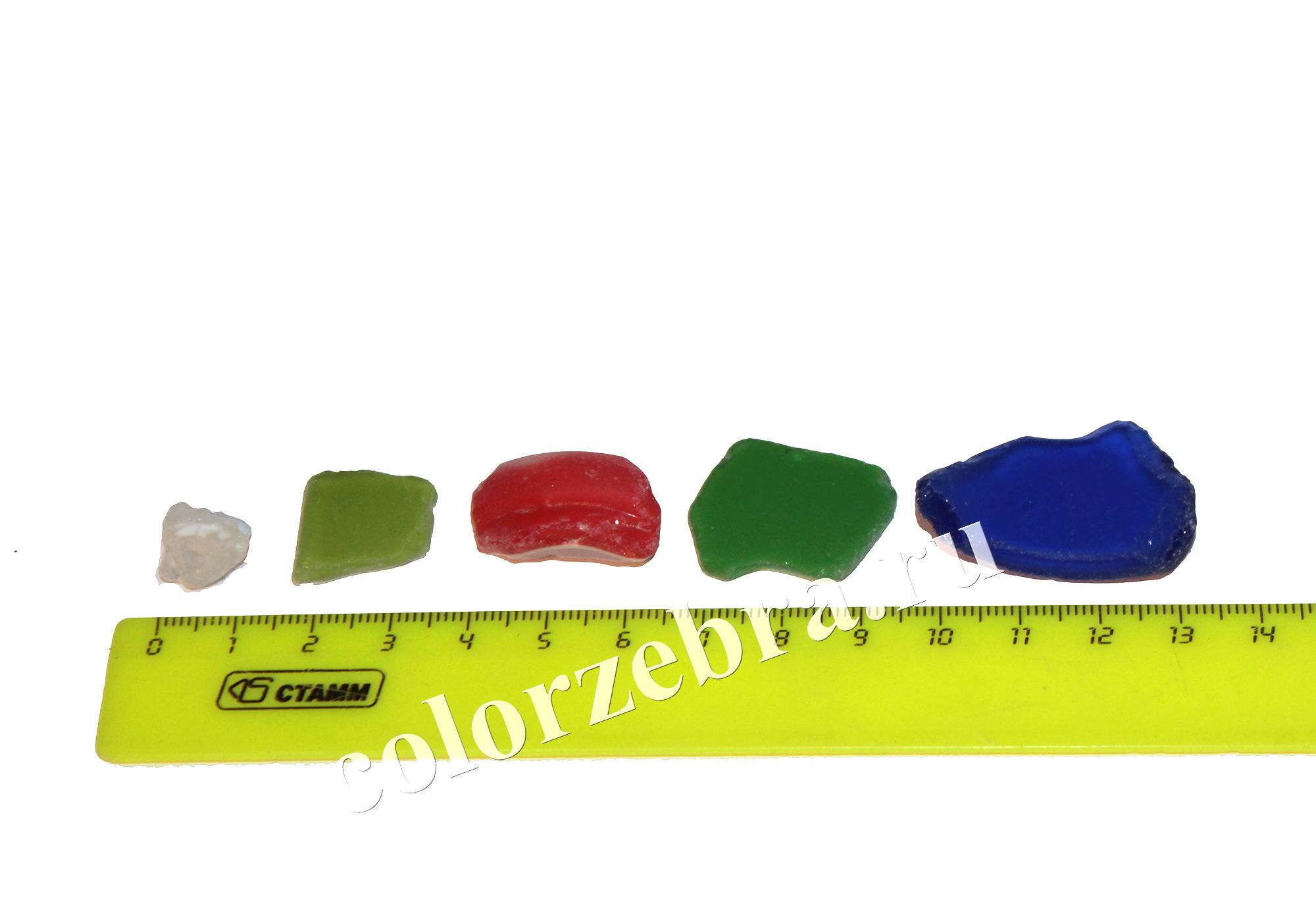 Декоративное цветное стекло для рукоделия