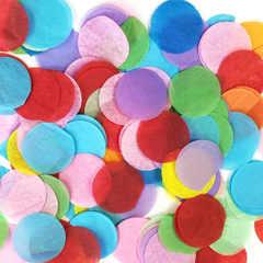 """Конфетти """"Разноцветные круги """" 2,5 см"""