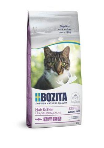 30520 BOZITA Funktion Sensitive Hair&Skin сух.корм д/кошек чувствительной кожей и шерстью 2кг*6 НОВИНКА