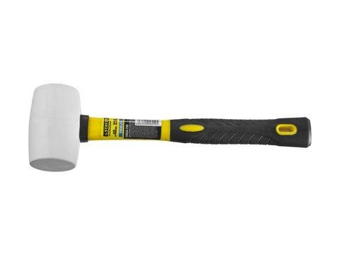STAYER  230г Белая резиновая киянка с фиберглассовой рукояткой