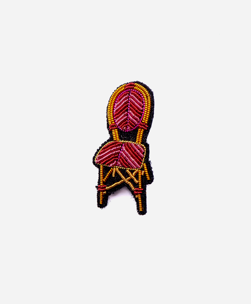 Брошь Pub chair