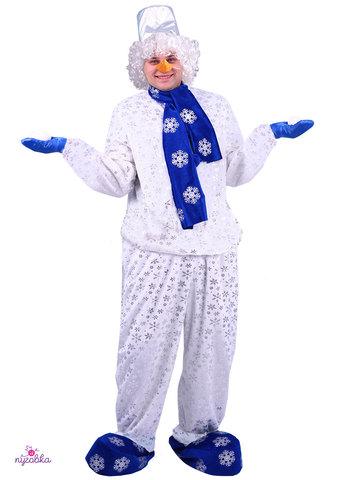 Карнавальный костюм взрослый Снеговик