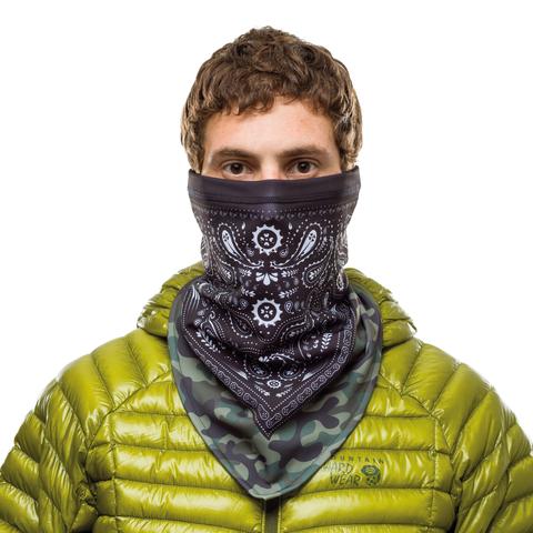 Шарф-труба сноубордическая Buff Bandana Tech Fleece Camo Cash Multi фото 2