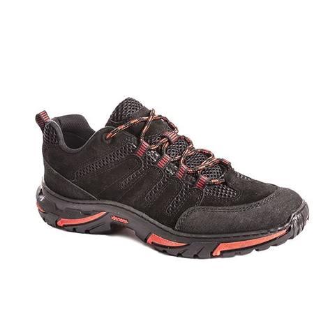 Ботинки «Стрит» лето (Vincere) черные/красные 5005-4 ХСН