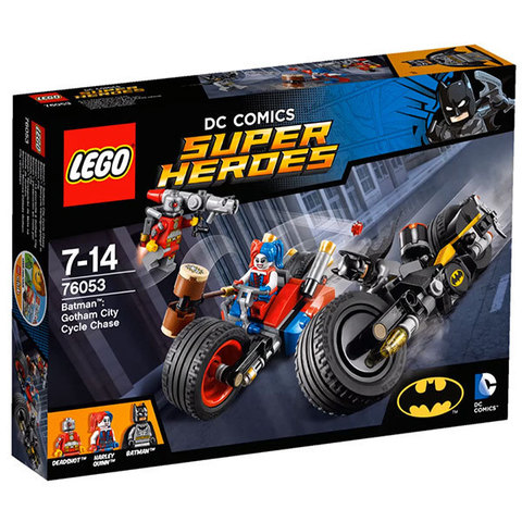 LEGO Super Heroes: Бэтмен: Погоня на мотоциклах по Готэм-сити 76053 — Gotham City Cycle Chase — Лего Супергерои ДиСи