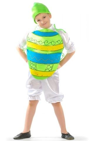 Костюм Яйцо Пасхальное зелёное 1