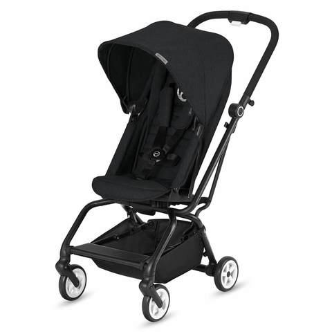Прогулочная коляска Cybex Eezy S Twist Lavastone Black