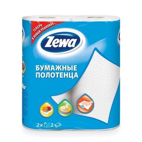 Полотенца бумажные Zewa 2шт 2-слойные