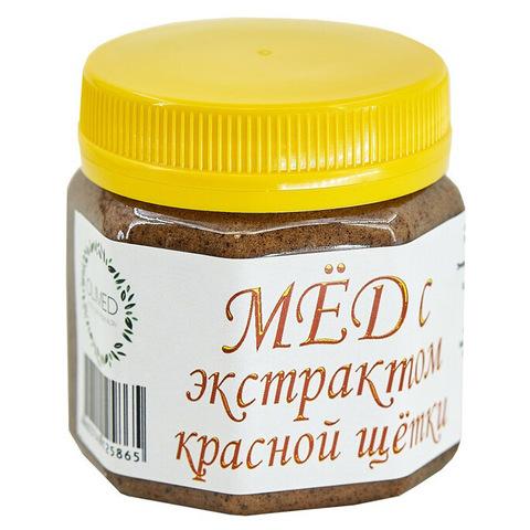Мед с экстрактом красной щетки OLIMED, 250г