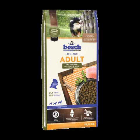 Bosch Adult Сухой корм для собак с птицей и просом