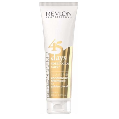 Revlon Revlonissimo Color Care: Шампунь-кондиционер для золотистых блондированных оттенков волос (Shampoo & Conditioner Golden Blondes), 275мл