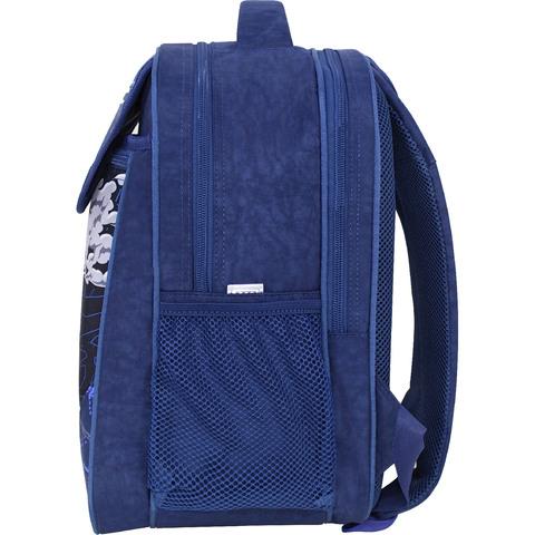 Рюкзак школьный Bagland Отличник 20 л. 225 синий 904 (0058070)