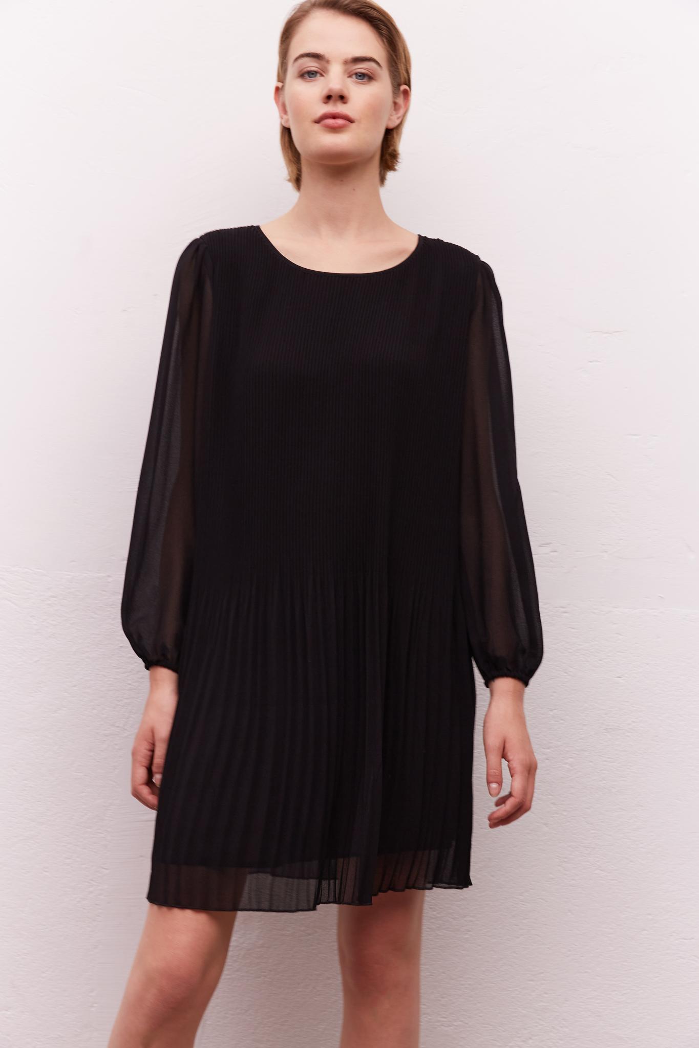 JAYA - Плиссированное платье с принтом