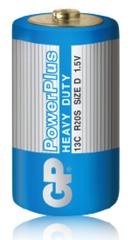 Батарейки GP 13С Power Plus D (R20)