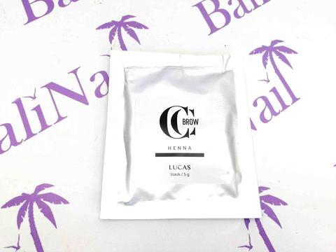 Хна для бровей CC Brow (black) в саше (черный), 5 гр