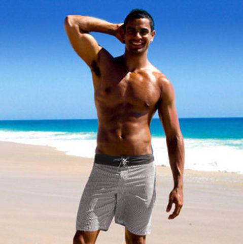 Мужские плавательные шорты Aussiebum Surf Shorts Optical