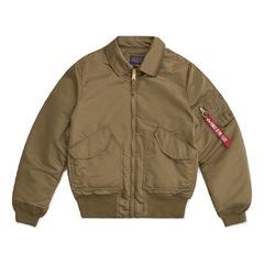 Куртка Alpha Industries CWU 45/P Slim Fit Vintage Olive (Оливковая)