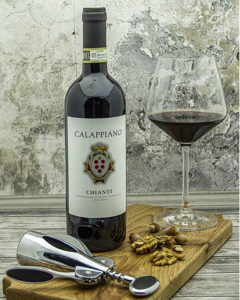 Вино Fattoria di Calappiano Кьянти Калаппиано Красное Сухое 2018 г.у. 12,5% 0,75 л.