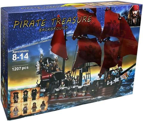 Конструктор Pirates Пираты Месть Королевы Анны 6001, 1207 дет.