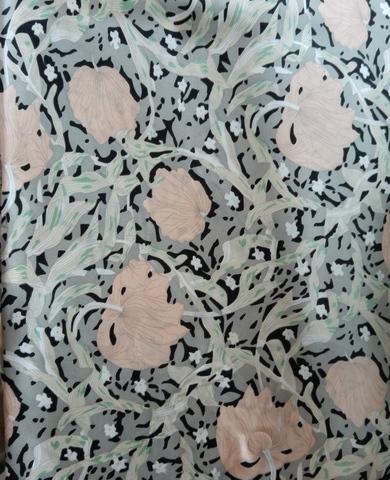 Халат женский натуральный шелк MIA-MIA Dior ДИОР 15089