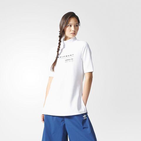Джемпер женский adidas ORIGINALS MESH SWEAT SS