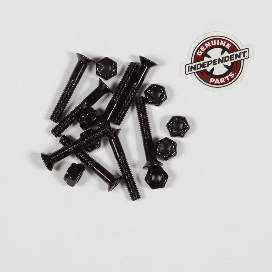 Болты для скейтборда INDEPENDENT Phillips Hardware (Black)